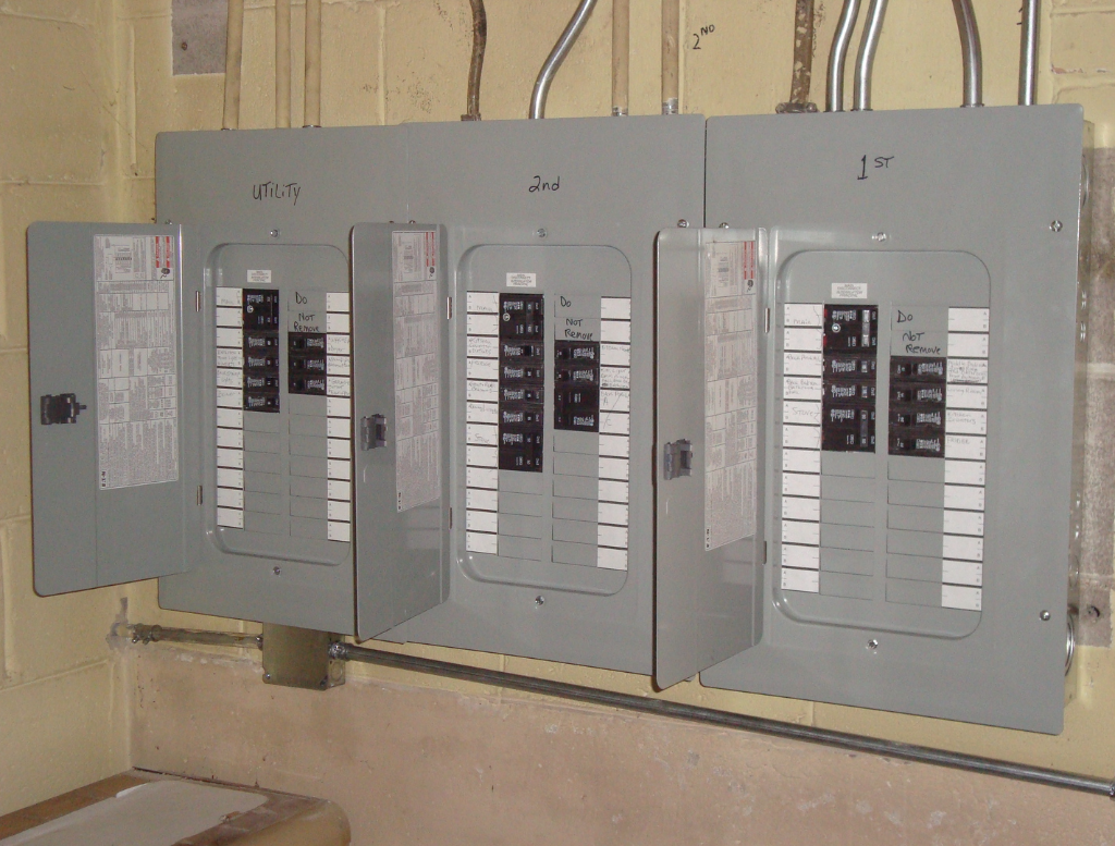 Building Electrical Panel : Recent construction projects in hillside il
